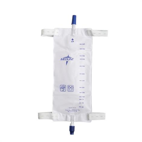 Buy Medline Leg Bag With Comfort Straps And Twist Valve Drainage Port