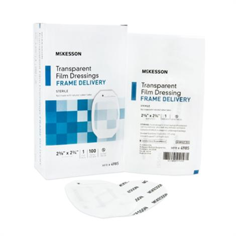 McKesson Framed Transparent Film Dressing