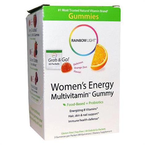 Rainbow Light Womens Multivitamin Energy Gummy