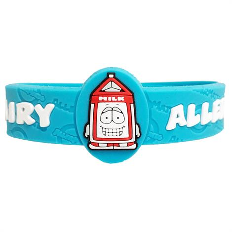 AllerMates Dairy Allergy Alert Bracelet