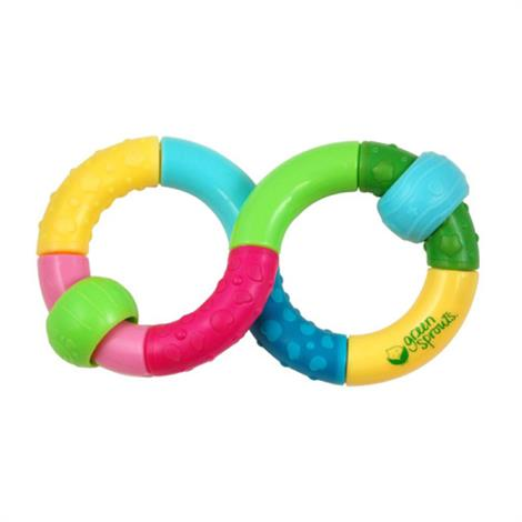 Green Sprouts Teether Rattle Infinity