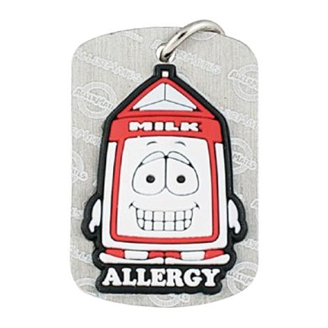 Buy AllerMates Dog Tag Pint Dairy Allergy