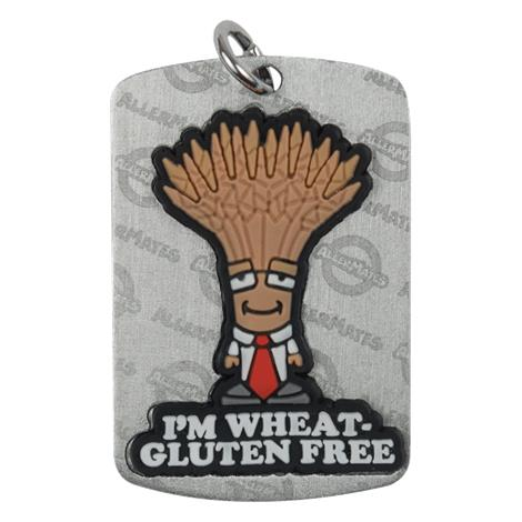 Buy AllerMates Dog Tag Professor Wheatley Gluten Allergy