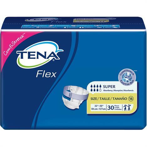 Tena Flex Belted Briefs - Heavy Absorbency