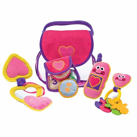 Melissa & Doug Pretty Purse Fill And Spill Soft Toy
