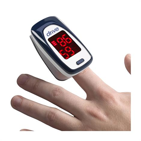 Drive Fingertip Pulse Oximeter with LED Display