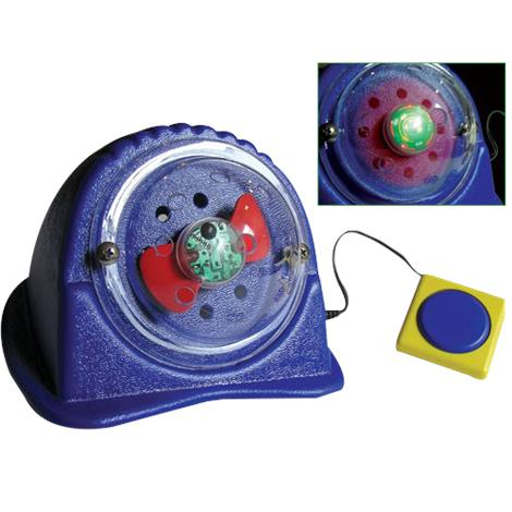 Spinning Light Show Switch Operated Toy