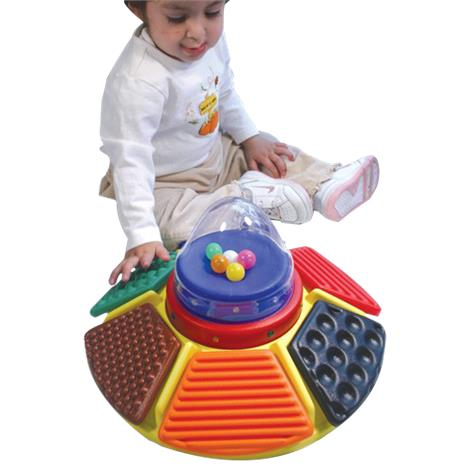 Textured Carousel Busy Box Switch Toy