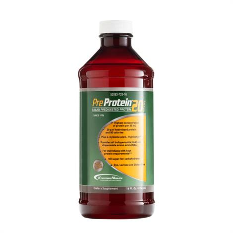 Pre-Protein 20 Mango Liquid Predigested Protein