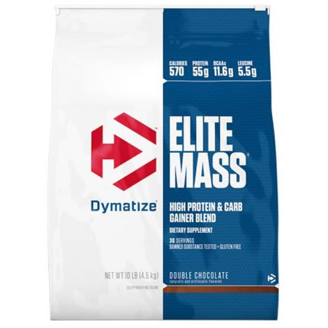 Dymatize Elite Mass High Protein And Carb Gainer Blend Dietary Supplement