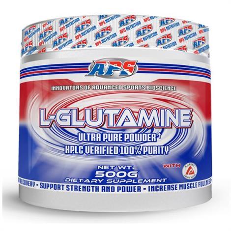 APS L-Glutamine Dietary Supplement