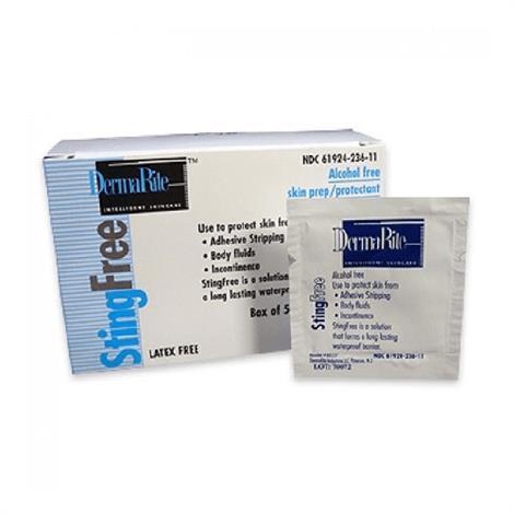 Dermarite StingFree Skin Prep Protective Barrier Wipes