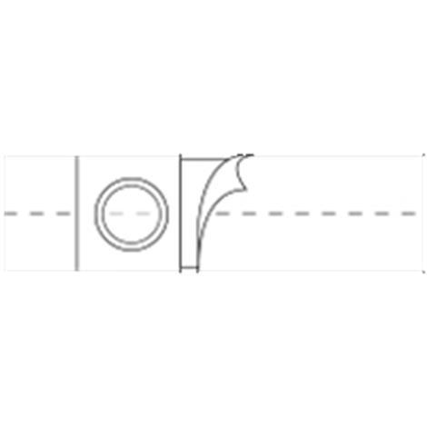 Nu-Hope Original Flat Panel 4 Inches Regular Elastic Ostomy Support Belt