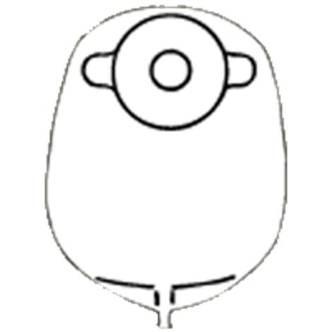 Nu-Hope Standard Round Post-Operative Mid-Size Urinary Pouch