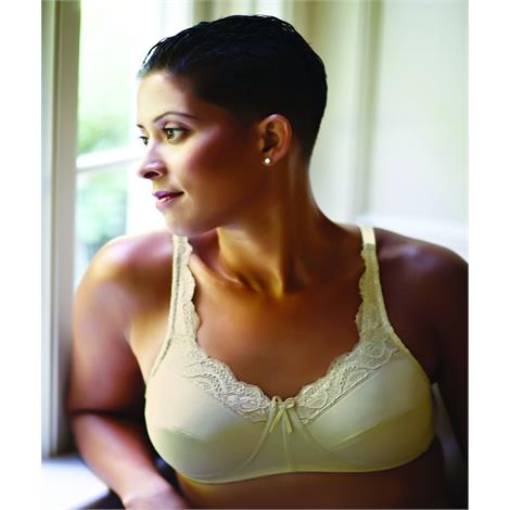 ABC Lace Front Mastectomy Bra Style 101