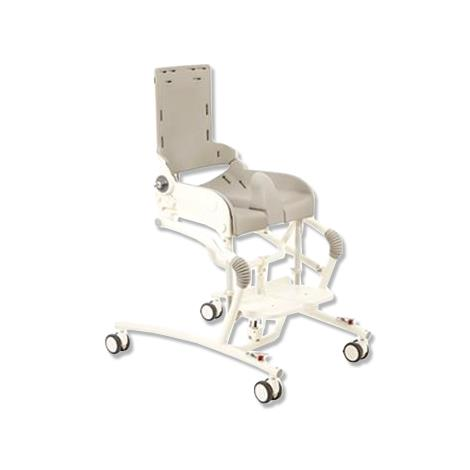 Buy Flamingo R82 High-Low Toilet Bath Chair - Grey
