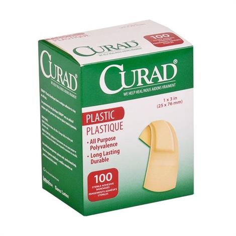 Medline Curad Plastic Adhesive Bandages