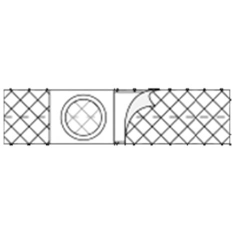 Nu-Hope Original Flat Panel 3 Inches Petite/Youth Cool Comfort Elastic Ostomy Support Belt