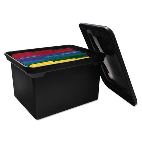 Buy Advantus File Tote with Lid