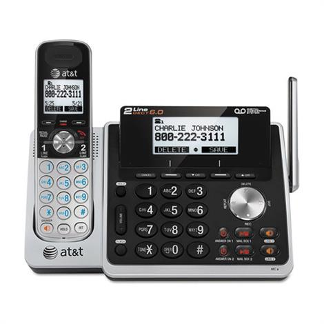 Buy AT and T TL88102 Cordless Two-Line Digital Answering System
