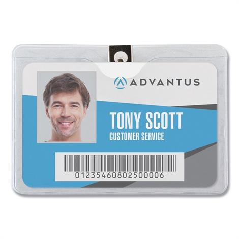 Buy Advantus ID Badge Holders with Clip