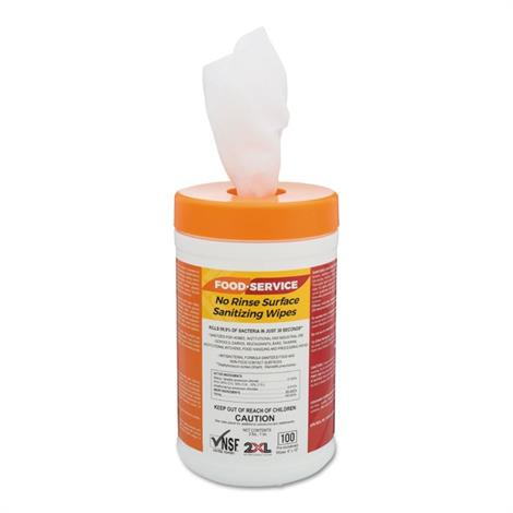 Buy 2XL Food Service No Rinse Surface Sanitizing Wipes