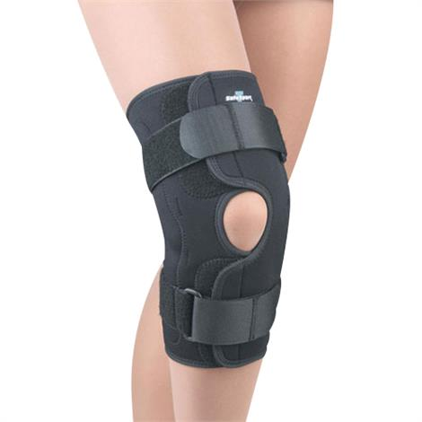 FLA Orthopedics Safe-T-Sport Neoprene Wrap Around Hinged Knee Brace