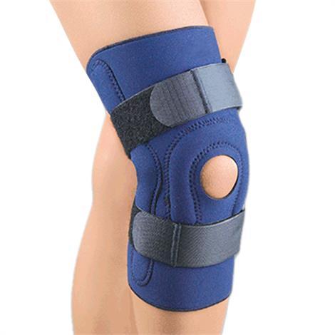 FLA Orthopedics Safe-T-Sport Neoprene Hinged Stabilizing Knee Brace