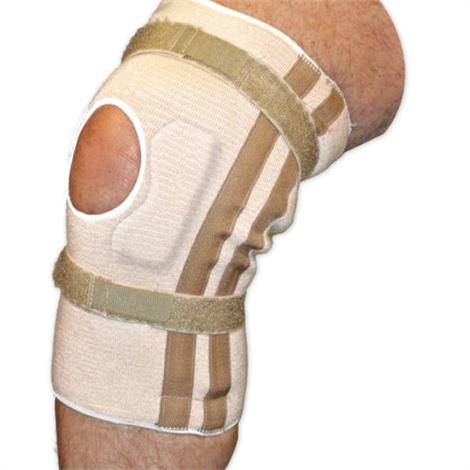 AT Surgical Pull-On Open Patella Knee Brace With Cartilage Pad