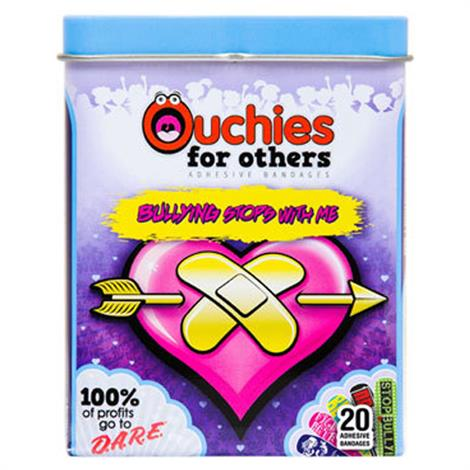 Cosrich Ouchies D.A.R.E. Anti-Bullyz Adhesive Bandages