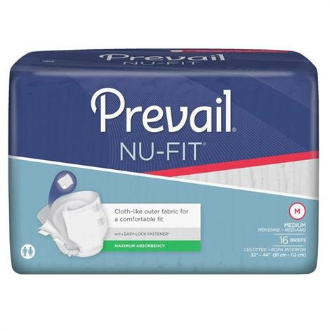 Prevail Nu-Fit Adult Briefs - Extra Absorbency