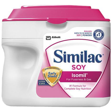 Abbott Similac Soy Isomil Infant Formula with Iron