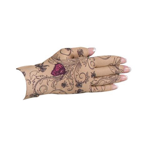 LympheDivas Mariposa Beige Compression Glove