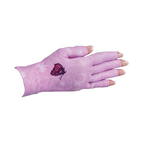LympheDivas Mariposa Pink Compression Glove