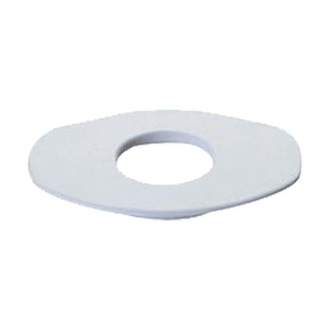 Marlen Extra-Large Oval Flat Mounting Ring