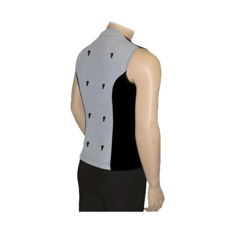 BioMedical BioKnit Full Back Conductive Vest