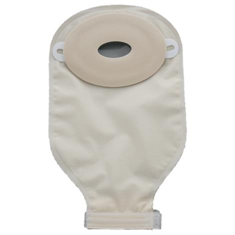 Nu-Hope Flat Standard Oval Pre-Cut Post-Operative Adult Drainable Pouch