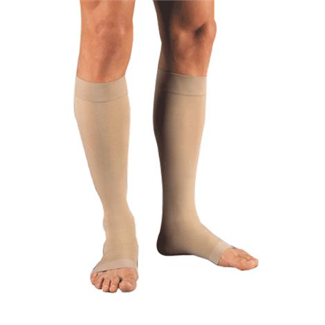 BSN Jobst Relief Large Open Toe Knee High 30-40mmhg Extra Firm Compression Stockings