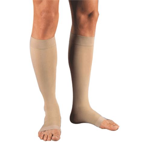 BSN Jobst Relief Large Full Calf Open Toe Knee-High 20-30 mmHg Firm Compression Stockings