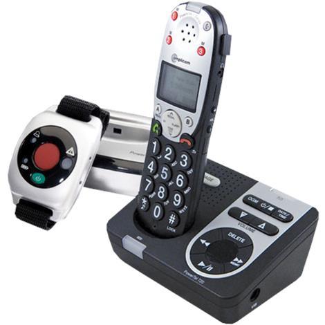 Amplicom USA PowerTel 725 Reliant Plus Amplified DECT Cordless Phone