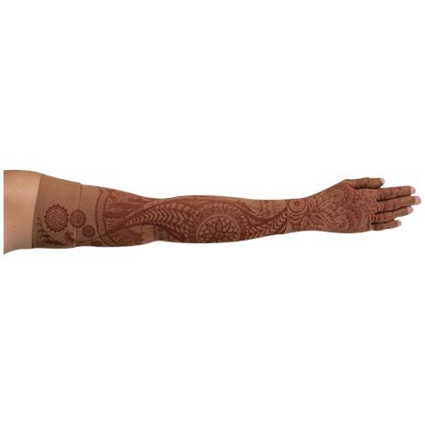 LympheDivas Bodhi Mocha Compression Arm Sleeve And Glove