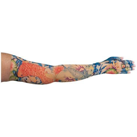 LympheDivas Koi Compression Arm Sleeve And Glove