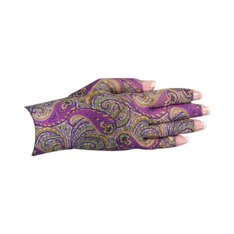 LympheDivas Purple Paisley Compression Glove