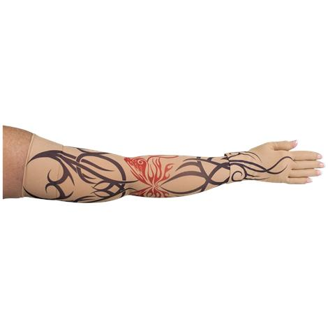 LympheDivas Inked Compression Arm Sleeve And Glove