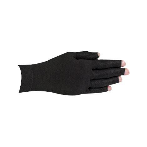 LympheDivas Onyx With Crystal Ribbon Compression Glove
