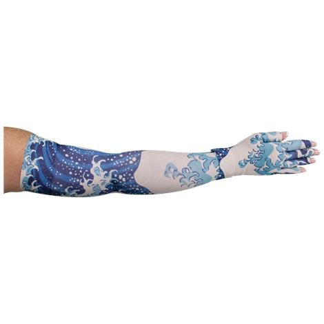 LympheDivas Great Wave Compression Arm Sleeve And Glove