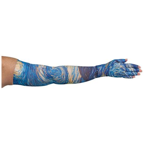 LympheDivas Starry Night Compression Arm Sleeve And Glove