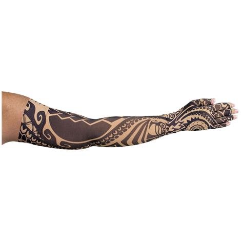 LympheDudes Fierce Beige Compression Arm Sleeve And Glove