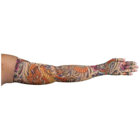 LympheDivas Lotus Dragon Tattoo Compression Arm Sleeve And Glove