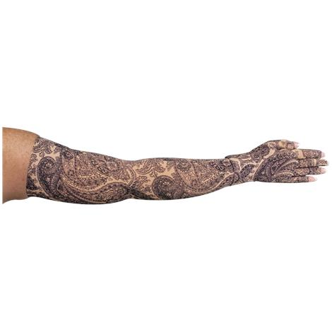 LympheDivas Black Paisley Compression Arm Sleeve And Glove